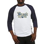 Beagle Dad Baseball Jersey