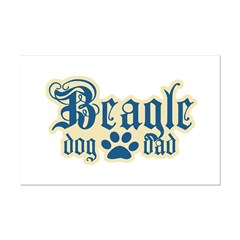 Beagle Dad Posters