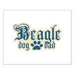 Beagle Dad Small Poster