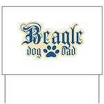 Beagle Dad Yard Sign