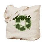 Reuse Recycle Symbol Canvas Tote Bag