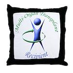 Multi-Organ Transplant (3D) Throw Pillow