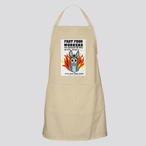 Fast Food Workers BBQ Apron