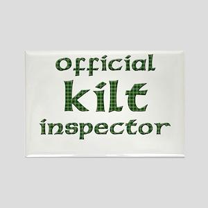 Official Kilt Inspector Rectangle Magnet