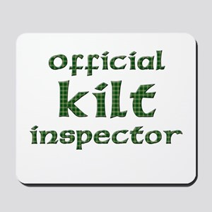 Official Kilt Inspector Mousepad