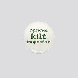 Official Kilt Inspector Mini Button