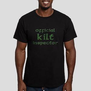Official Kilt Inspector Men's Fitted T-Shirt (dark