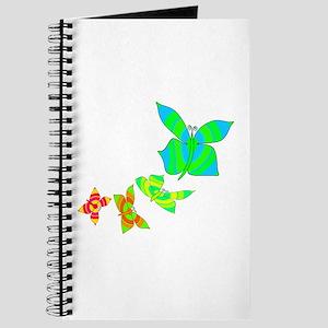 Butterfly Rainbow Journal
