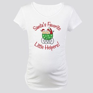 SANTA'S FAVORITE LITTLE HELPERS Maternity T-Shirt