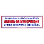 Agenda-Driven Media Opinions (Bumper 50 pk)