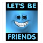 FRIENDS Square Car Magnet 3