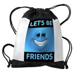 FRIENDS Drawstring Bag
