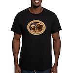 GRRSWF Logo Men's Fitted T-Shirt (dark)