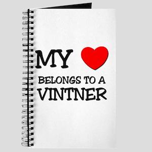 My Heart Belongs To A VINTNER Journal