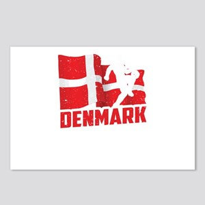 Football Worldcup Denmark Postcards (Package of 8)