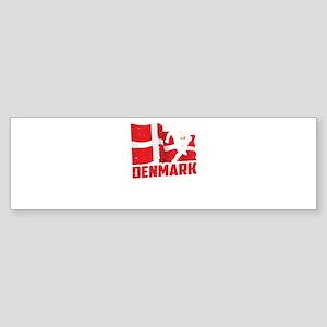 Football Worldcup Denmark Danes Soc Bumper Sticker