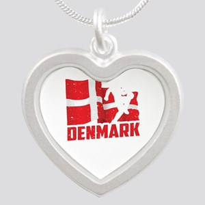 Football Worldcup Denmark Danes Soccer T Necklaces