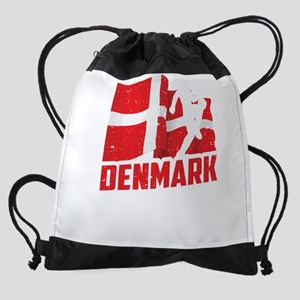 Football Worldcup Denmark Danes Soc Drawstring Bag