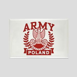 Polish Army Rectangle Magnet