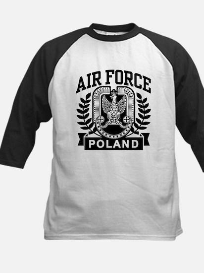 Polish Air Force Kids Baseball Jersey