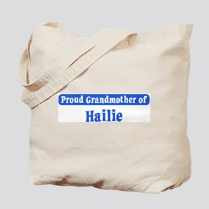 Grandmother of Hailie Tote Bag