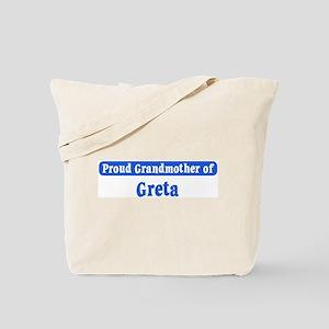 Grandmother of Greta Tote Bag