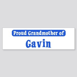 Grandmother of Gavin Bumper Sticker
