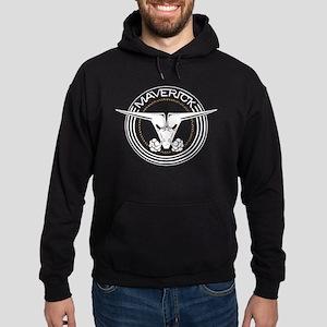 Maverick Head Hoodie (dark)