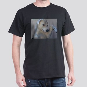 Black T-Shirt Featuring Dolly the Akbash Dog