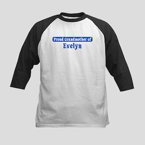 Grandmother of Evelyn Kids Baseball Jersey