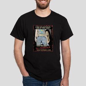 Love at First Sight Black T-Shirt