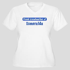 Grandmother of Esmeralda Women's Plus Size V-Neck