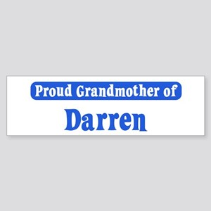 Grandmother of Darren Bumper Sticker