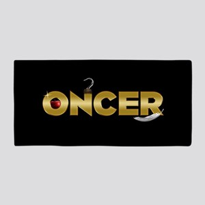 Once Upon A Time Oncer Beach Towel