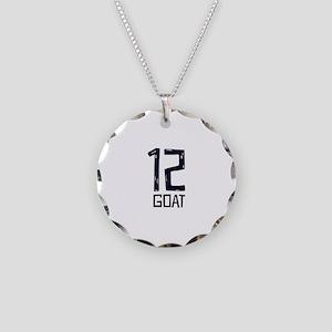 GOAT 12 Necklace Circle Charm
