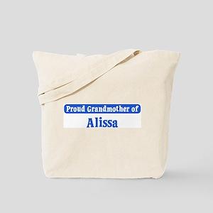 Grandmother of Alissa Tote Bag