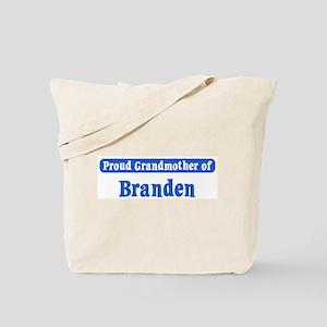 Grandmother of Branden Tote Bag