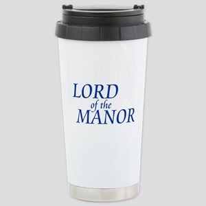 Lord of the Manor Stainless Steel Travel Mug