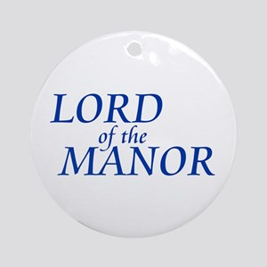 Lord of the Manor Ornament (Round)