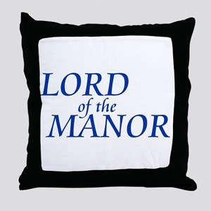Lord of the Manor Throw Pillow