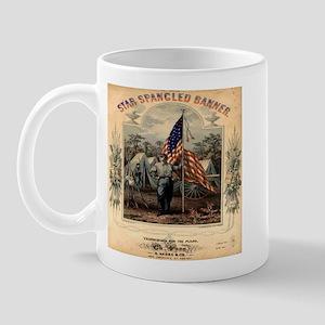Star-Spangled Banner Sheet Music Mug
