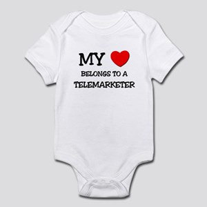 My Heart Belongs To A TELEMARKETER Infant Bodysuit