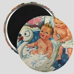 """Vintage Swan Bathtub 2.25"""" Magnet (10 pack)"""