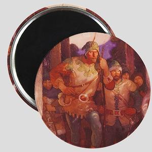 "Robin Hood by NC Wyeth 2.25"" Magnet (10 pack)"