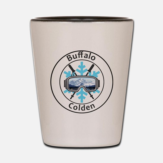 Funny Buffalo new york Shot Glass