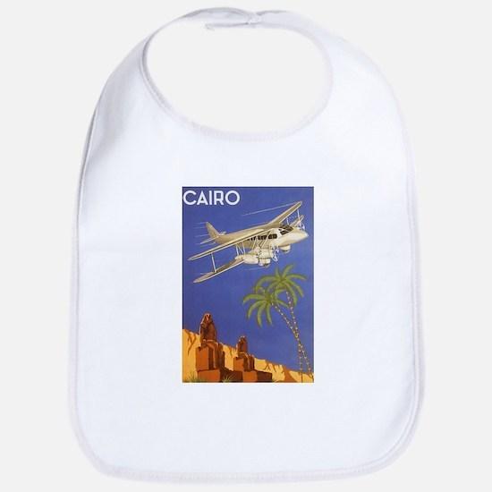 Vintage Travel Poster Cairo Egypt Bib
