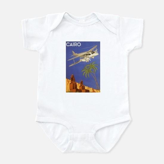 Vintage Travel Poster Cairo Egypt Infant Bodysuit