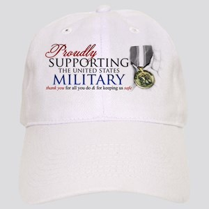 Proudly Supporting (Military) Cap