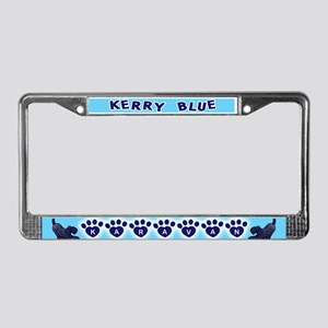 Kerry Karavan License Plate Frame