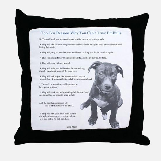 Top 10 Reasons Throw Pillow